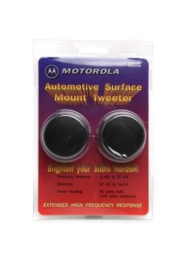 Motorola KSN-1193A Tweeter Automotive Surface Mount Tweeter Renkli
